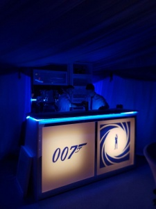 007 Themed Mobile Bar